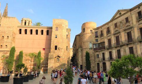バルセロナ「ゴシック地区・旧市街」の風景