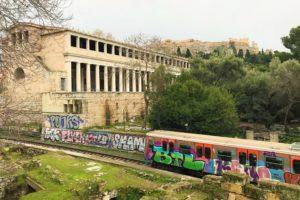 「アテネ」のパルテノン神殿ビュー