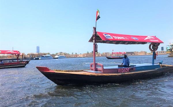 「オールドドバイ」の渡し船「アブラ」