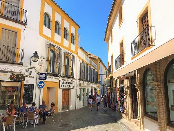 スペイン南部の「コルドバ」にある「ユダヤ人街」の風景