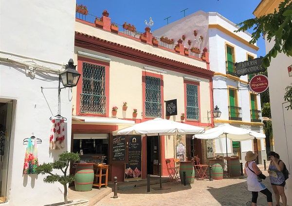 スペイン南部のコルドバにある「ユダヤ人街」の風景