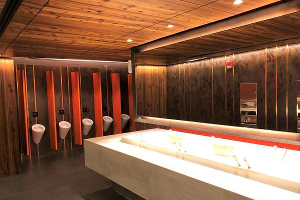 ドバイの新名所「ブルーウォーターアイランド」にある綺麗なトイレ