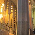 スペイン「バルセロナ」にある、「サグラダファミリア」の館内