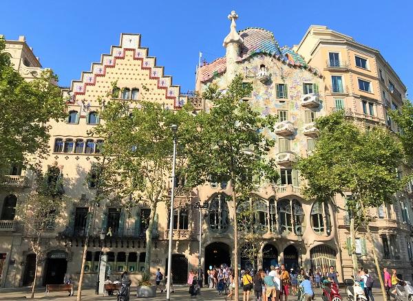 スペイン「バルセロナ」にあるモデルニスモ建築「カサ アマトリェール」
