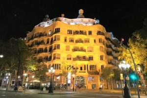 スペイン「バルセロナ」にある世界遺産「カサミラ」
