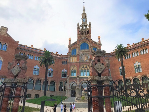 スペイン「バルセロナ」にある世界遺産「サンパウ病院」