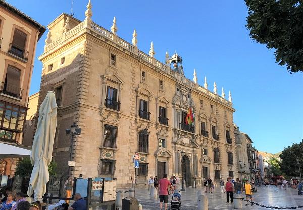 スペイン「グラナダ」にある「ヌエバ広場」