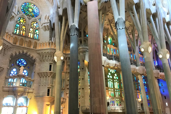 スペイン「バルセロナ」にある世界遺産「サグラダファミリア」