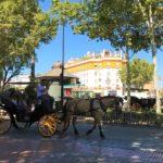 スペイン「セビリア」の路地風景