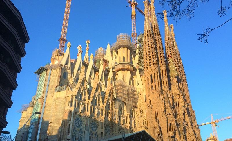 バルセロナの世界遺産「サグラダファミリア」